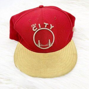 New Era NBA Golden State Warriors Fitted Hat